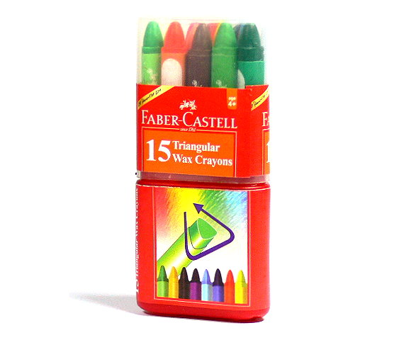 Faber Castell Playing & Learning Crayons Grip Crayons 15 120015 PB516