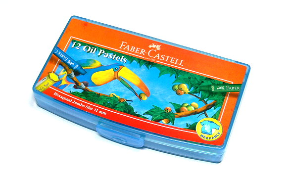 Faber Castell Playing & Learning Pastels Hexa Jumbo Oil Plst Box 12 120063 PB500