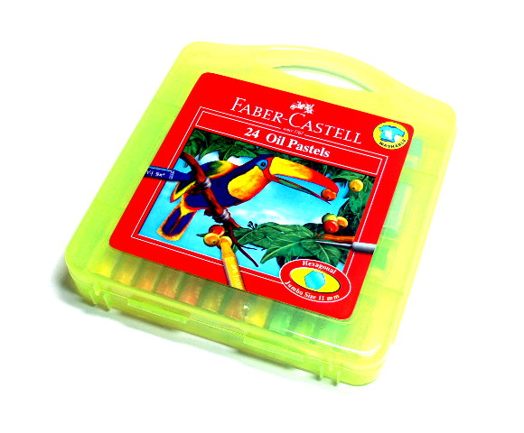 Faber Castell Playing & Learning Pastels Hexa Oil Plastic Bag 24 120089 PB502