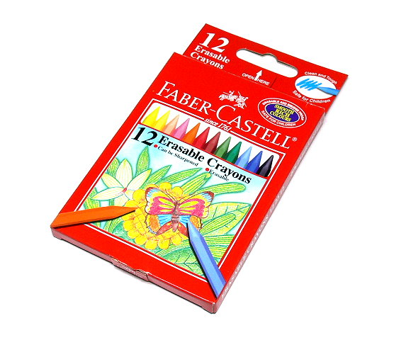 Faber Castell Playing & Learning Crayons Smart Crayon Box 12 122312 PB518