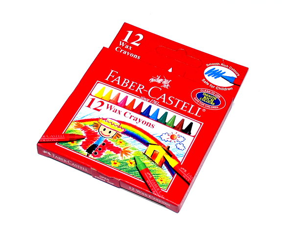 Faber Castell Playing & Learning Crayons Soft Crayon 12 122412 PB522