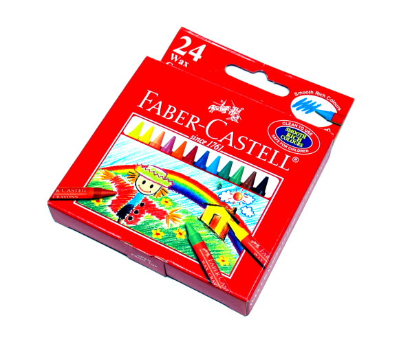 Faber Castell Playing & Learning Crayons Wax Crayons 122424 PB526