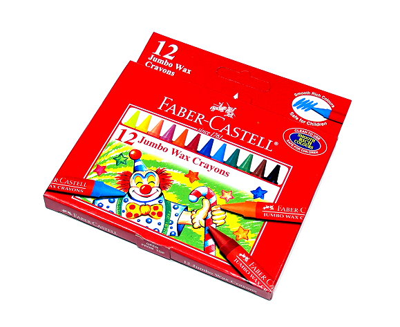 Faber Castell Playing & Learning Crayons Jumbo Wax Crayons 12 122512 PB528