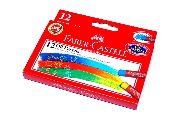 Faber Castell Playing & Learning Pastels Oil Pastel Box 12 122712 PB506