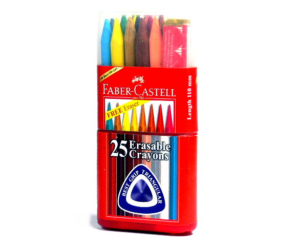 Faber Castell Playing & Learning Crayons Grip Crayons 25 122825 PB534