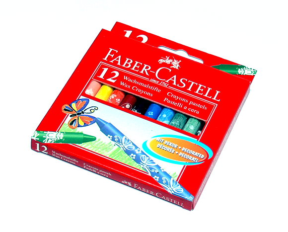 Faber Castell Playing & Learning Crayons Decorated barrels Box 12 141012EU PB540