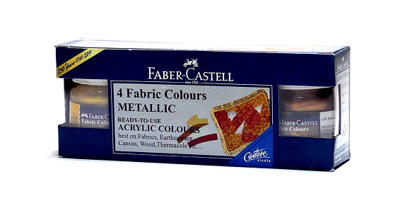 Faber Castell Others Fibric Color 4 Metallic 1410503 PB436