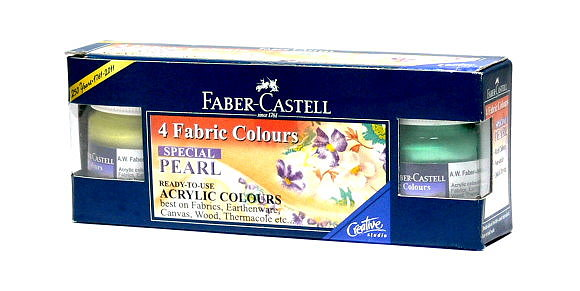 Faber Castell Others Fibric Color 4 Pearl 1410504 PB438