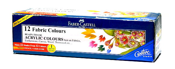Faber Castell Others Fibric Color 12 1410507 PB440