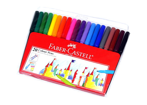 Faber Castell Colour Markers Magic Pens Wallet 20 154320 PB472