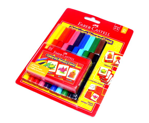 Faber Castell Colour Markers Connector Pen + Memory Card 155053 PB495