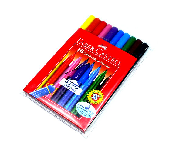 Faber Castell Colour Markers Grip Color Marker 10 155310 PB484