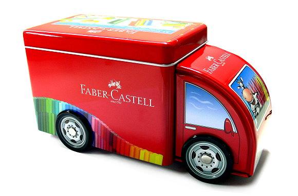 Faber Castell Colour Markers Connector Pens Fibre Tip Pen Truck 33 155533 PB463
