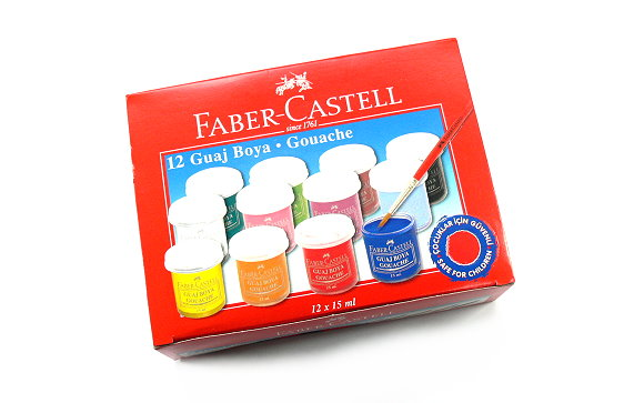Faber Castell Other Paint 12 Colours Gouache 160401 PB423