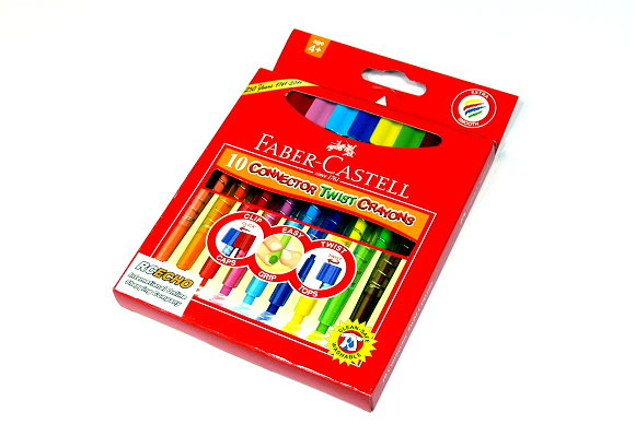 Faber Castell Playing & Learning Crayons Connector Twist Crayon 120020 PB517