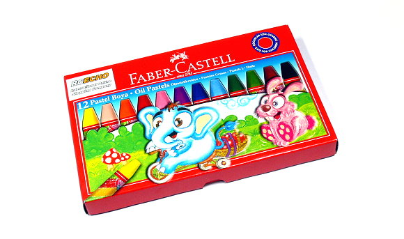 Faber Castell Playing & Learning Pastels Oil Pastel 12 125312 PB512