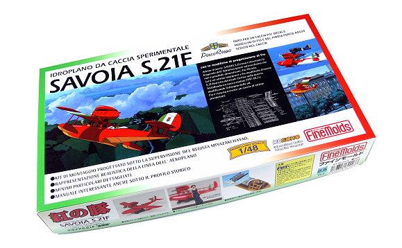 FineMolds Aircraft Model 1/48 FG-3 Savoia S.21F Sperimentale Seaplane M6203
