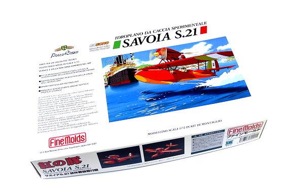 FineMolds Aircraft Model 1/72 FJ-1 Savoia S.21 Sperimentale Seaplane M6001