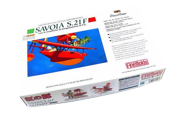 FineMolds Aircraft Model 1/72 FJ-3 Savoia S.21 F Sperimentale Seaplane M6003