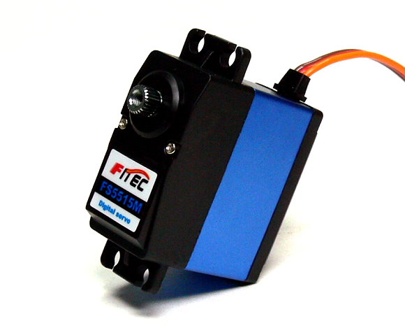 FITEC RC Model FS5515M Alloy Gear R/C Hobby Digital Servo SS864