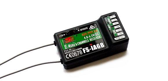 FLYSKY RC Model FS-iA6B 6ch 2.4GHz R/C Hobby Receiver RV156