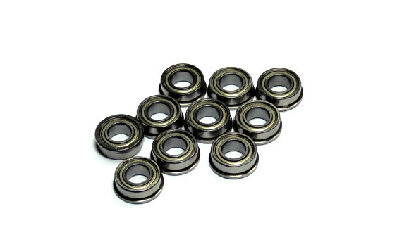 RCS Model FR188ZZ High Precision Bearing (6.35x12.7x4.762mm, 10pcs) CS397