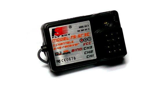 FS RC Model FS-GT3B 3ch 2.4GHz LCD R/C Hobby Transmitter & Receiver TS898