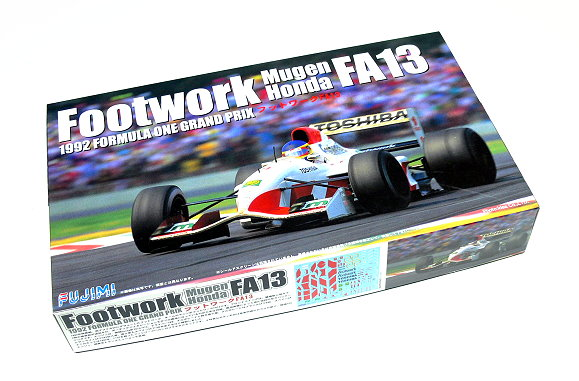 FUJIMI Automotive Model 1/20 Car Footwork Mugen Honda FA13 1992 F1 090603 F0603