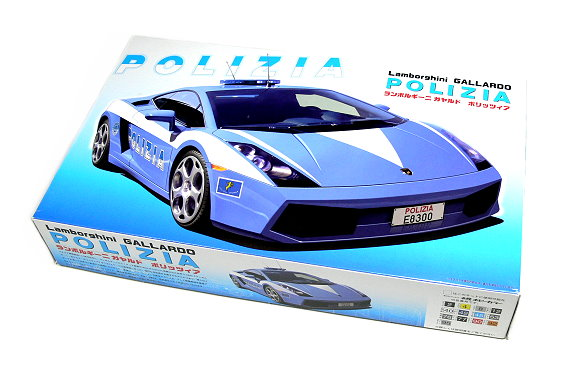 FUJIMI Automotive Model 1/24 Car Lamborghini GALLARDO POLIZIA RS.17 12232 F2232