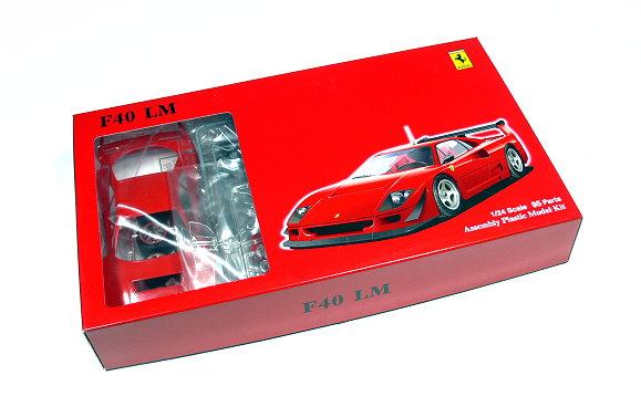 FUJIMI Automotive Model 1/24 Car Ferrari F40 LM HR.19 Scale Hobby 123080 F3080