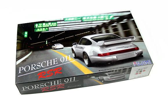 FUJIMI Automotive Model 1/24 Car PORSCHE 911 RSR RS.28 Scale Hobby 123110 F3110