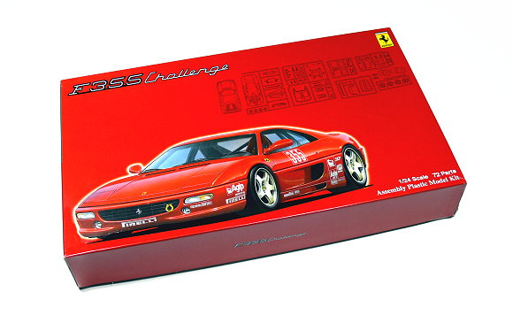 FUJIMI Automotive Model 1/24 Car F355 Challenge RS.29 Scale Hobby 123127 F3127