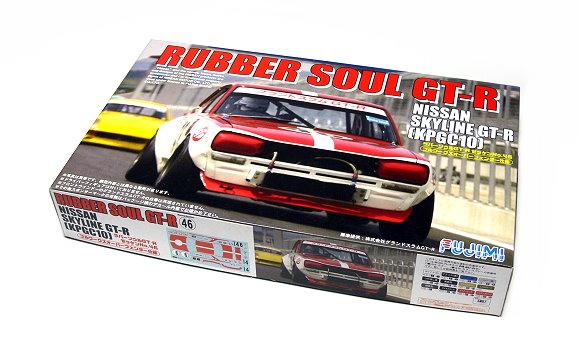 FUJIMI Automotive Model 1/24 Car RUBBER SOUL GT-R (KPGC10) HR.16 123455 F3455