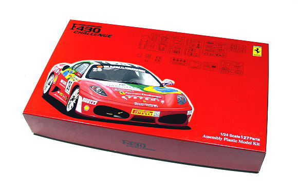 FUJIMI Automotive Model 1/24 Car F430 CHALLENGE RS.74 Scale Hobby 123615 F3615