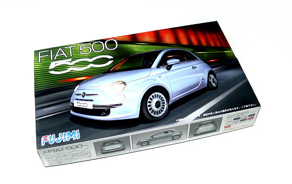 FUJIMI Automotive Model 1/24 Car FIAT 500 RS.77 Scale Hobby 123622 F3622
