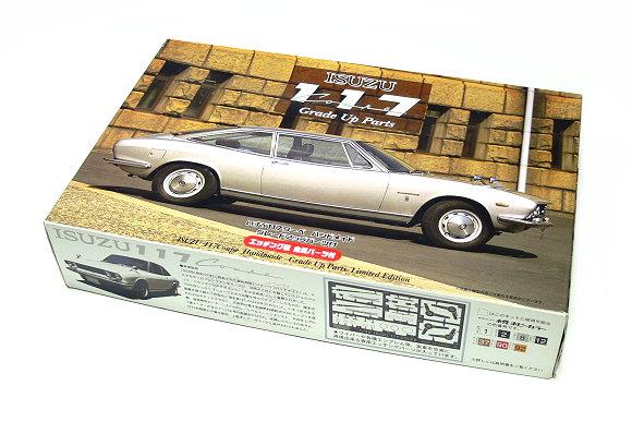 FUJIMI Automotive Model 1/24 Car ISUZU 117 Coupe Handmade Grade Up 03633 F3633