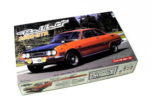FUJIMI Automotive Model 1/24 Car ISUZU Bellett 1600 GTR Grade Up 03634 F3634