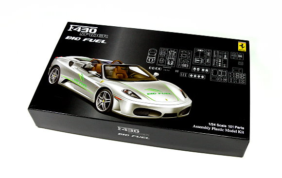FUJIMI Automotive Model 1/24 Car F430 SPIDER Bio Fuel RS.75 Hobby 123646 F3646