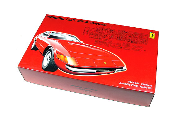 FUJIMI Automotive Model 1/24 Car 365 GTB4 (Daytona) SP Scale Hobby 123653 F3653