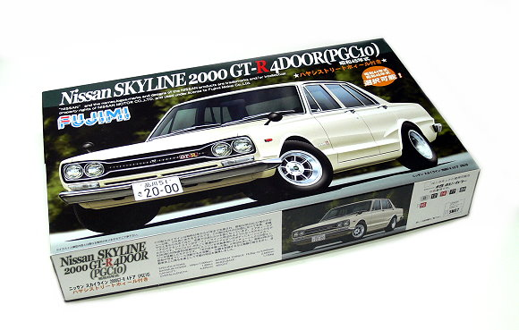 FUJIMI Automotive Model 1/24 Car Nissan SKYLINE 2000 GT-R NR 20 04327 F4327