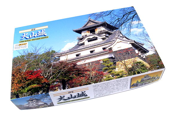 FUJIMI Building Model 1/300 Castle 3 INUYAMA Scale Hobby 50043 F0043