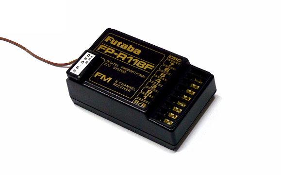 Futaba RC Model FP-R118F FM 35MHz 8ch R/C Hobby Receiver with Crystal RE480
