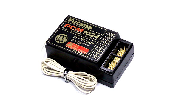 Futaba RC Model FP-R129DP PCM1024 41MHz 9ch R/C Receiver with Crystal RE492
