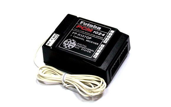Futaba RC Model FP-R137GP PCM1024 41MHz 7ch R/C Receiver with Crystal RE460