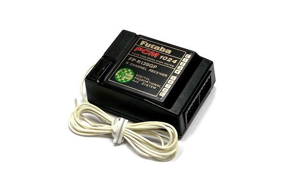 Futaba RC Model FP-R139GP PCM1024 40MHz 9ch R/C Receiver with Crystal RE464