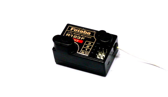 Futaba RC Model R123F FM 75MHz 3ch R/C Hobby Micro Receiver with Crystal RE485