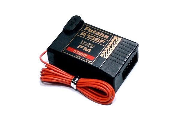Futaba RC Model R136F FM 35MHz 6ch R/C Hobby Receiver RE495
