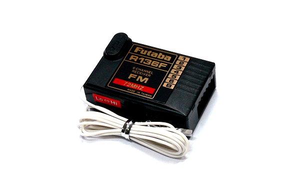 Futaba RC Model R136F FM 72MHz 6ch R/C Hobby Receiver RE454