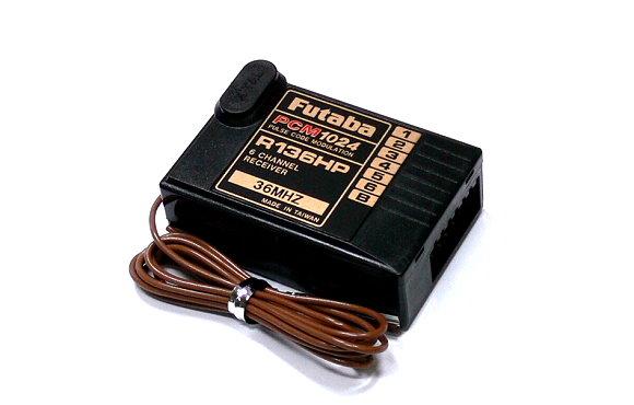 Futaba RC Model R136HP PCM1024 36MHz 6ch R/C Hobby Receiver RE498