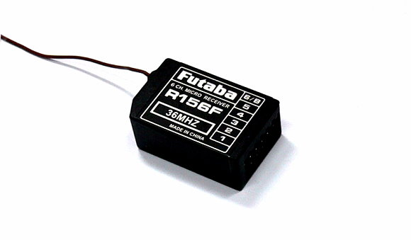 Futaba RC Model R156F FM 36MHz 6ch R/C Hobby Micro Receiver RE535